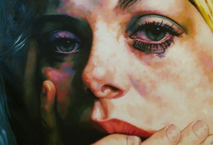 Teary Eyed Catherine by Thomas Saliot
