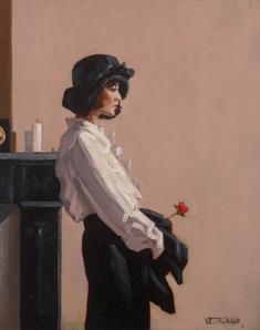 Valentine Rose by Jack Vettriano