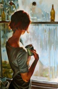 Blue Window by Thomas Saliot