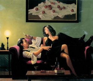 After Midnight by Jack Vettriano