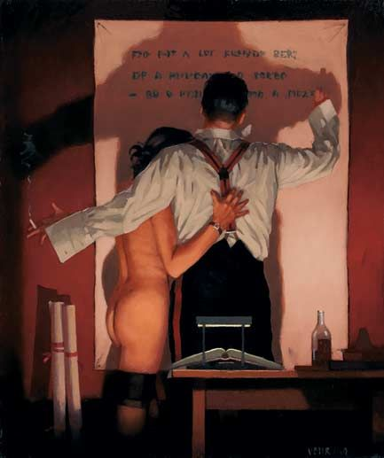 The Great Poet by Vettriano