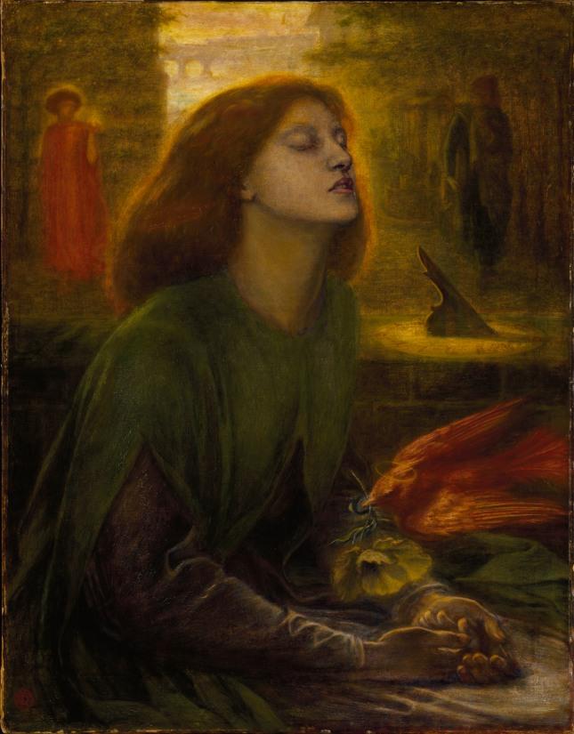 Dante Gabriel Rossetti: Beata Beatrix, ca 1864-70.