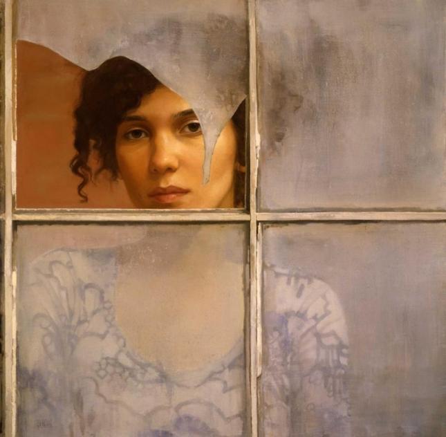 Sharon Sprung 1953 - American Figurative painter - Tutt'Art@
